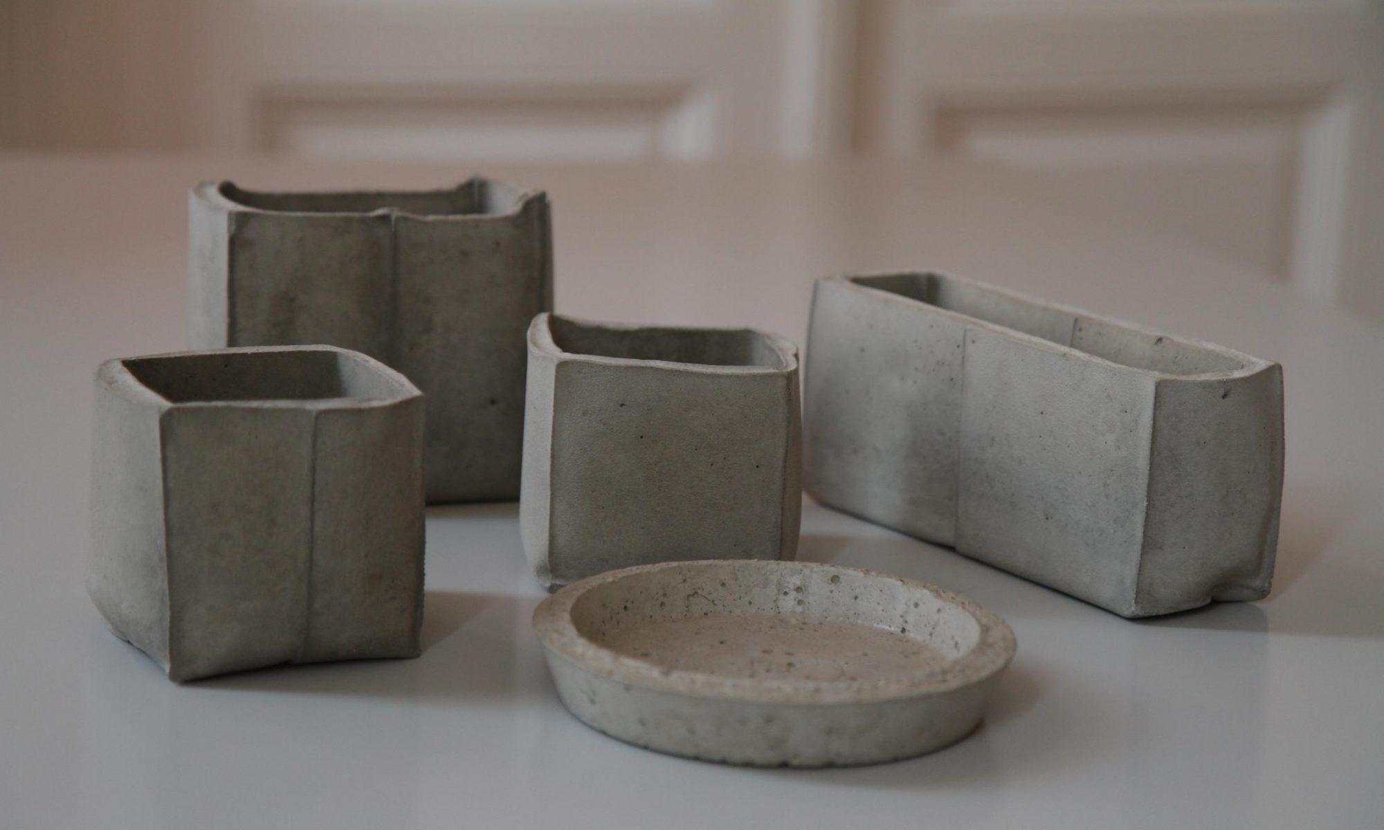 Formen aus Beton